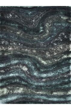 Loloi Glamour Shag GS-05 Midnight Rug Bedroom rug!