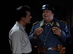 """""""You say nothing because your mouth is always full of our food!"""" Hogan exasperated with Schultz"""