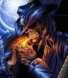 Smoke'em if you got them The Crow, Western Saloon, Dark Fantasy Art, Dark Art, Grim Reaper Art, Badass Skulls, Rock Poster, Skull Pictures, Biker Quotes