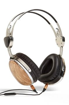 Gift that gives: LSTN Headphones from reclaimed zebrawood that support Starkey Hearing Foundation
