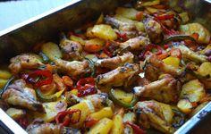 Ellouisa: Marokkaanse kipovenschotel  met groenten