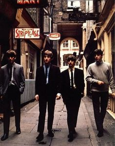 The Beatles. More about location and clothes than personal interaction with camera.