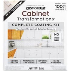 Rust Oleum Transformations Light Color Cabinet Kit 9 Piece Rust Oleum Transformations Dark Color Cabinet Kit 9 Piece 258240 Rust Oleum Transformations 1 Qt Pure White Cabinet Small Kit Rust…Read more of Kitchen Cabinet Painting Kit Used Cabinets, Brown Cabinets, Diy Cabinets, Paint Cabinets Kitchen, Home Depot, Bathroom Vanity Makeover, Cabinet Makeover, Countertop Kit, Rustoleum Countertop