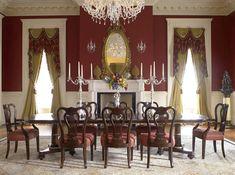 biedermeir style dining room furniture