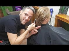 CORTE BOB Como cortar el Cabello estilo BOB. How to BOB haircut step by step, Hair Tutorial. - YouTube