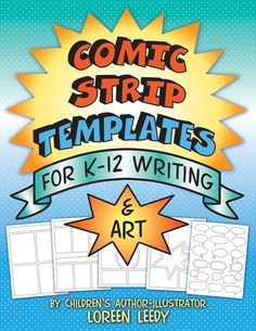 Comic Strip Templates for Writing and Art: kids of all ages love comics and these 40 templates can be used for a wide variety of projects such as biographies, math word problems, cause & effect, sequencing, and much more. Writing Art, Teaching Writing, Writing Activities, Creative Writing, Teaching Resources, Writing Ideas, Teaching Ideas, Writing Notebook, Comic Strip Template