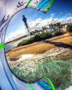 Somewhere, somehow... Somebody knows where this awesome picture was taken? kitesurfingwrld
