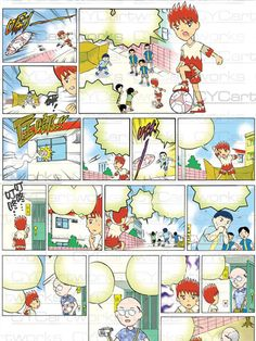 CYCartworks Portfolio 033 - created by Comic Yalcin Chen (陳右錚) -