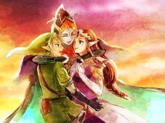 Link Midna Zelda