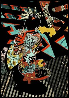 'Kukiko' // Giclee print