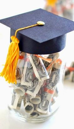 DIY Graduation Gift with Dollar Diplomas