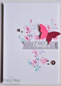 Butterflies & Timeless Textures from Stampin' Up! #GDP021