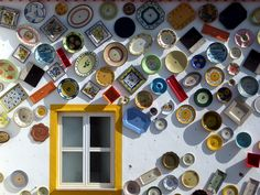 Sagres - Plates on a wall by muffinn, via Flickr