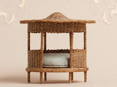 WC/008, wicker cats pagoda, scale 1 : 12, made by Will Werson.