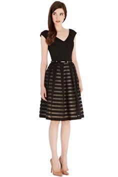 Striped Tea Dress