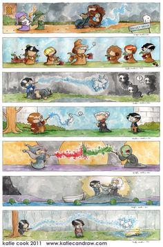 Cartoon HP