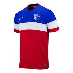 53f098cddc8 Men s Nike USA 2014 2015 Away Stadium Jersey Usa World Cup