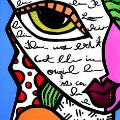 Fidostudio Painting - Written All Over Her Face by Tom Fedro - Fidostudio