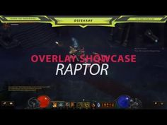 Twitch Overlay Template - Raptor Showcase Overlays, Gaming, How To Get, Templates, Projects To Try, Videogames, Stencils, Vorlage, Game