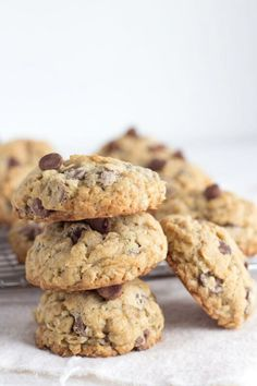 Oatmeal Chip Cookies Recipe