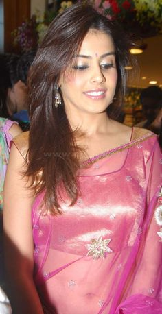 Genelia Dsouza In Saree Wallpaper | Funny World    http://www.funny.nicewallpapers.in/genelia-dsouza-in-saree-wallpaper.html