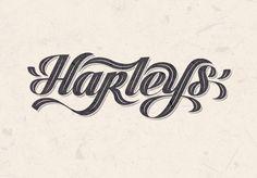 The Harleys Collection | Logo Design on Behance