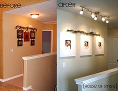 HALLWAY The House of Smiths - Home DIY Blog - Interior Decorating Blog - Decorating on a Budget Blog