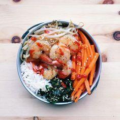 Party de crevettes  #fraichementpresse #repost : @iamsohel #cookit #recipe #cheflife #mtl #chefsofinstagram #feedfeed #foodforfoodies #bibimbap #foodporn #foodie