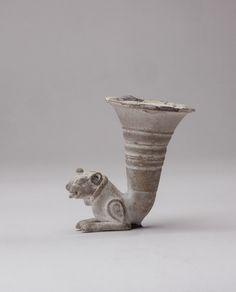 Achaemenid Silver Rhyton - AM.0405 Origin: Central Asia Circa: 500 BC to 400 BC