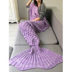 SHARE & Get it FREE | Fish Scale Crochet Knit Warm Long Mermaid Blanket ThrowFor Fashion Lovers only:80,000+ Items • FREE SHIPPING Join Twinkledeals: Get YOUR $50 NOW!