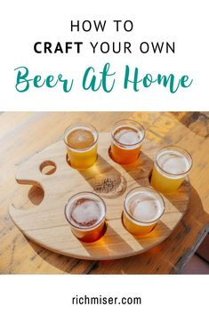 Ever wanted to try your hand at home brewing? Here's a great guide to how to make beer at home! #beer #craftbeer #brew #brewing #brewbeer #beers #athome #hobbies