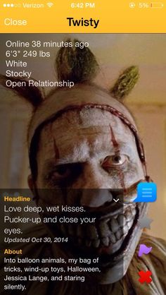 AHS Freak Show   Saw someone I recognized on grindr