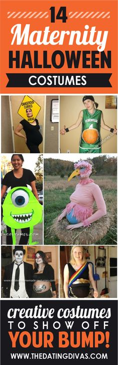 These maternity Halloween costumes are just to die for! www.TheDatingDivas.com
