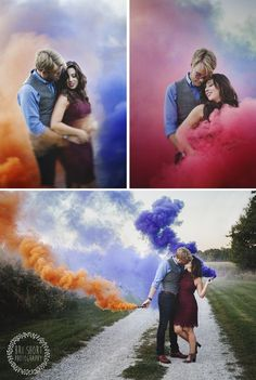 A quaint midwest farm love session complete with cute animals and smoke bombs for the win! natural light session by Bri Short Photography. Creative Photography, Couple Photography, Engagement Photography, Photography Poses, Wedding Photoshoot, Wedding Shoot, Engagement Pictures, Engagement Shoots, Fotos Strand