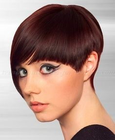 short hairstyles with long bangs, short hair long fringe - short asymmetrical hairstyle