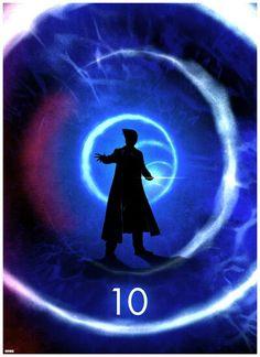 Matt Ferguson's Series of DOCTOR WHO Silhouette Prints #10