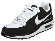 3e37f8fb4606 Nike Air Max Ltd 3 Mens 687977-020 Black Leather Athletic Running Shoes  Size 8.5