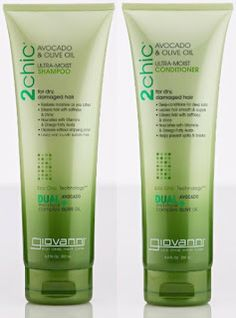 Product review on Giovanni 2chic Shampoo and Conditioner