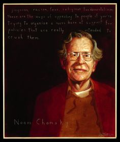 "Meet the extraordinary Noam Chomsky. A celebrated author, linguist, philosopher, logician, political activist and cognitive scientist, he has truly made his mark in the world by being one of its greatest intellectuals. His influence spans a wide range of generations, from his own up to today. ""If one person raises questions, that's breaking up open-mindedness"". Noam Chomsky http://thextraordinary.org/noam-chomsky"