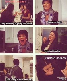 Kardashian<---she's absolutely hit the nail on the head with that one. Funny Kardashian Moments, Kardashian Quotes, Kardashian Jenner, Tumblr Funny, Funny Memes, Hilarious, Lord Disick, Funny People, Funny Posts