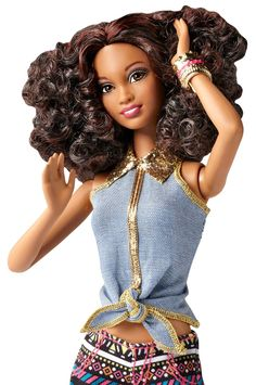 Amazon.com: Barbie So In Style Tricelle Doll and Fashion Gift Set: Toys & Games