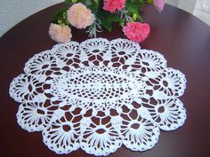 Como Tejer Carpeta o Centro de Mesa a crochet paso a paso DIY 2/3