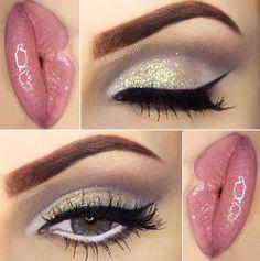 Very pretty classy makeup