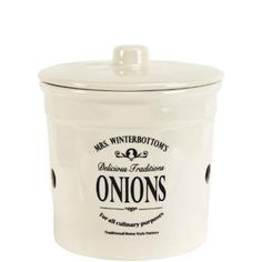 £16.90 MRS. WINTERBOTTOM'S Onion pot Height approx. 18 cm - Kitchen & Dining