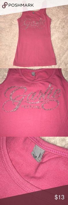 Garlic Festival Tank Size small, purchased at the Gilroy Garlic Festival and it didn't fit :-( super cute! Tops Tank Tops