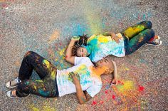 Engagement Session : Angel and Avery :: Their house and some Holi Powder Holi Photo, Holi Powder, Engagement Session, Photography Ideas, Angel, My Style, House, Color, Haus