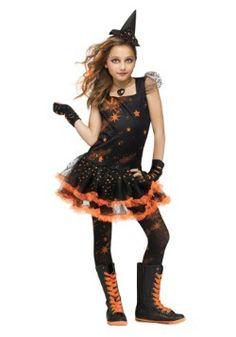 Sparkle Star Witch Child Costume