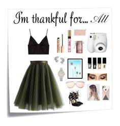 """Unbenannt #177"" by anna-styles14 on Polyvore featuring Mode, Post-It, Chicwish, T By Alexander Wang, Fujifilm, WALL, Major Moonshine, JINsoon, Olivia Burton und Elise Dray"