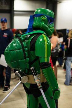 Stormtrooper/Ninja Turtle mashups