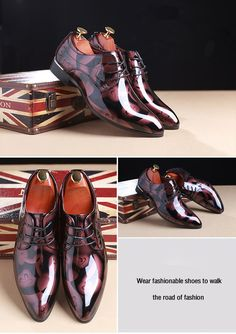 Leather Groom Wedding Oxford Shoes. Oxford ShoesSize ChartFormal ... 1579f3a4874e